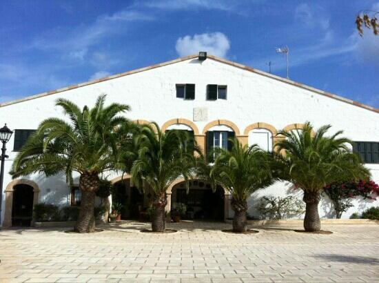 Agroturisme Biniatram: edificio principal