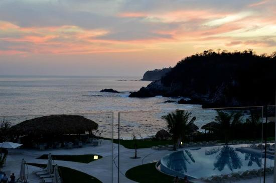 Secrets Huatulco Resort & Spa: View from the top floor