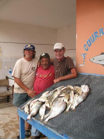 La Courbine d'Argent: tableau de pêche