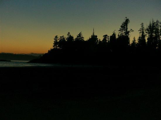 Beautiful sunsets, Mackenzie Beach - Bella Pacifica campground