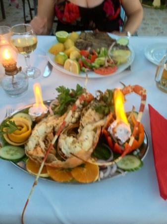 Paolo: lobster & T Bone steak
