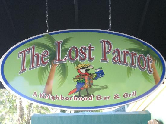 The Lost Parrot : Sign