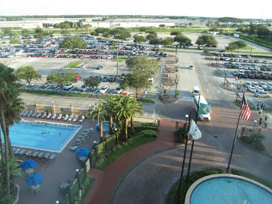 The Florida Hotel & Conference Center: View from room 744