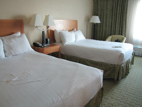 The Florida Hotel and Conference Center: Room 744 comfy beds