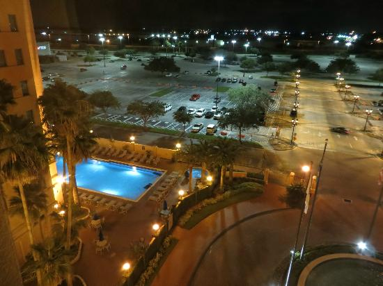 The Florida Hotel & Conference Center: Room 744 view at night
