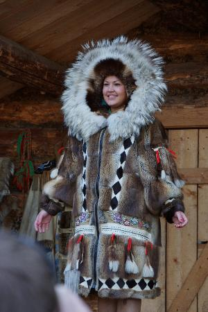 "Riverboat Discovery: Alaskan native winter coat - very difficult to create ""Awesome"""