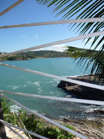 Cachoeira Inn: View of the bay from the inn