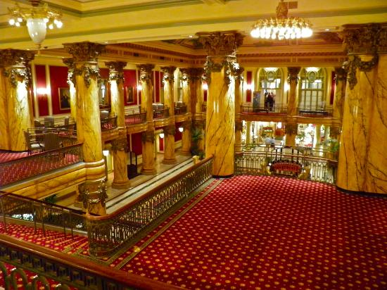 The Jefferson Hotel: Spectacular lobby!