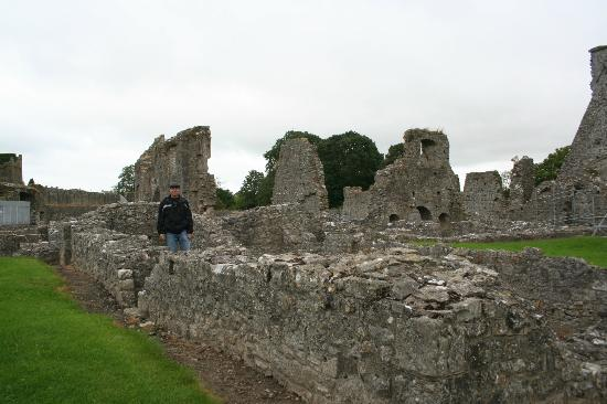 Lawcus Farm Guest House: Nearby Kells Priory ruins