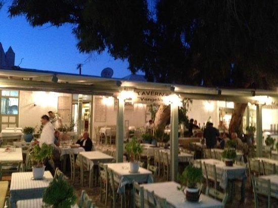 Vangelis Taverna : Taverna Vangelis in Ano Mera