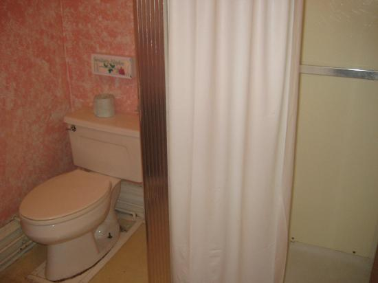 Adirondack Hotel on Long Lake: Shower with plenty of hot water and pressure