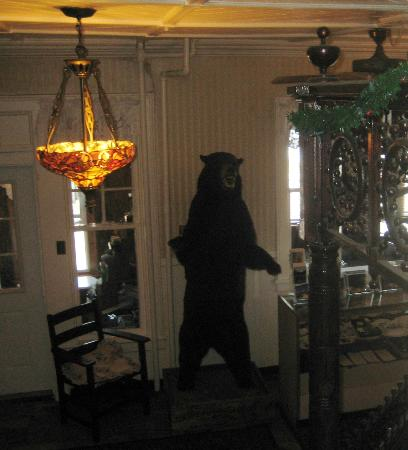 Adirondack Hotel on Long Lake : Bear in the hallway!