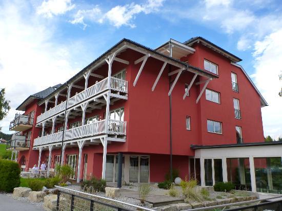 Das Hotel Eden: hotel ansicht