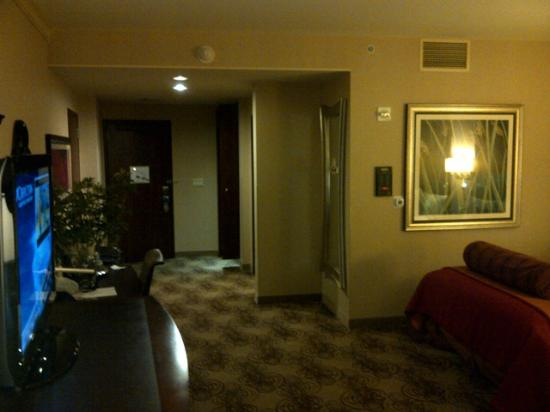 Choctaw Casino Resort: Choctaw Queen handicap Room