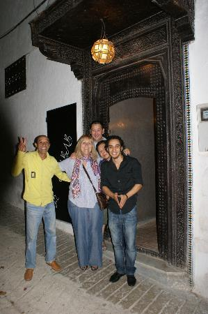 Le Nabab : Entrance and friendly staff