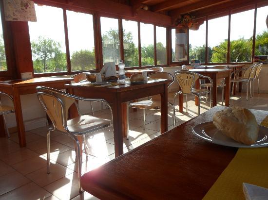 Tenuta Turchi: Veranda per colazione