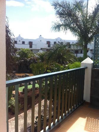 Las Marismas de Corralejo: balcony view