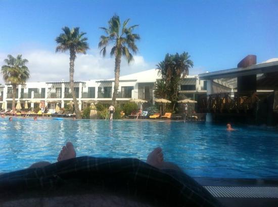 Las Marismas de Corralejo: clean pool area