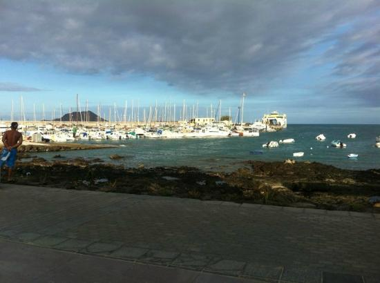 Las Marismas de Corralejo: Corralejo harbour