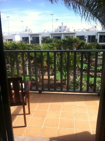 Las Marismas de Corralejo: balcony
