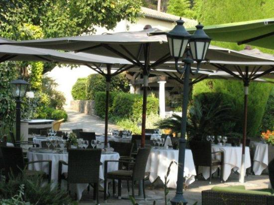 Hotel de Mougins : Restaurant
