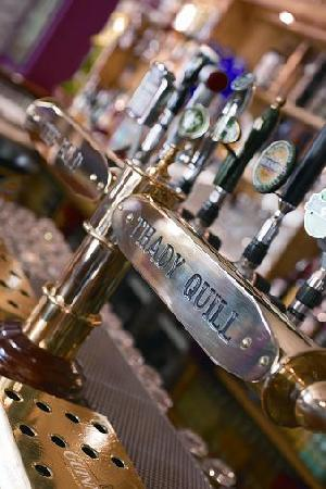 The Bold Thady Quill : Some of our Draught Beers