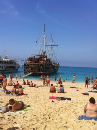 Zante Star: the pirate ship