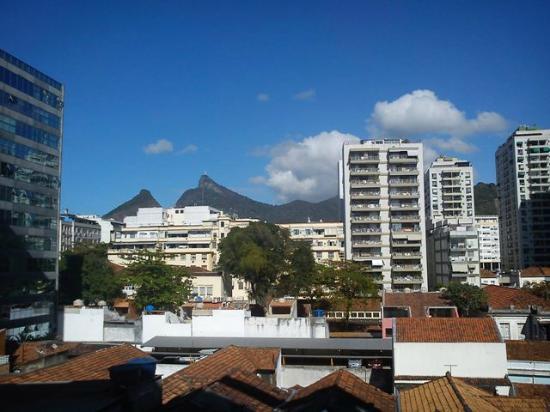 Scorial Rio Hotel: Vista da ala frontal