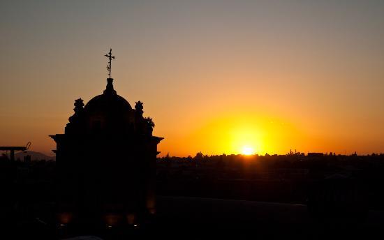 La Posada del Monasterio: View from 5th floor
