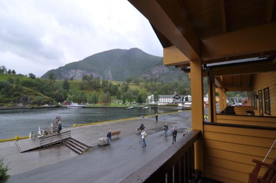 Flam Ferdaminne: View from the balcony.