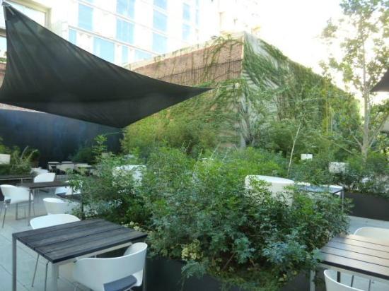 Alma Barcelona: Garden area