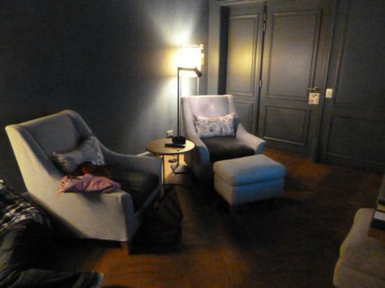 Alma Barcelona: Sitting area
