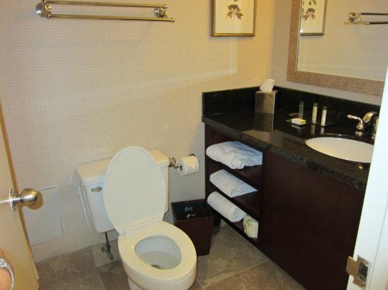 Courtyard Philadelphia Downtown: nice amenities in bathroom