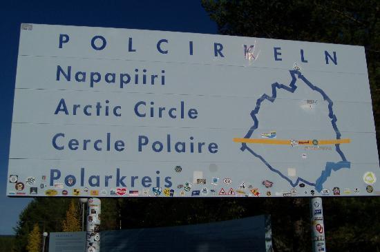 Arctic Circle Just South Of Jokkmokk Picture Of Jokkmokk - Jokkmokk sweden map