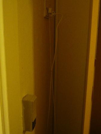 Zleep Hotel Copenhagen City: Instalación eléctrica