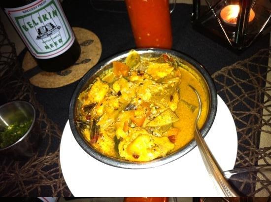 Serendib: shrimp curry