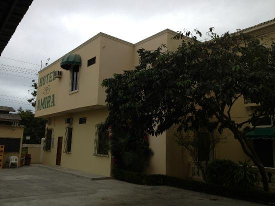 Hotel Amira in Salinas, Ecuador : View from pool