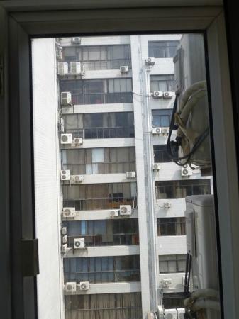 7 Days Inn Shanghai Hongqiao: View from the window