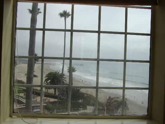SeaCrest OceanFront Hotel: Room 410 - View to the south from bay window seating area.
