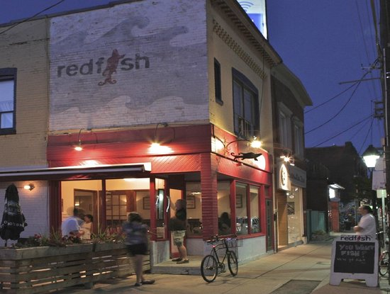 Red Fish: bustling night