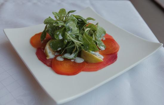 Red Fish: Beet Salad