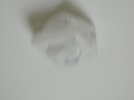 Globe Hotel: Worrying: the kitchen smoke alarm had been covered with a plastic bag.