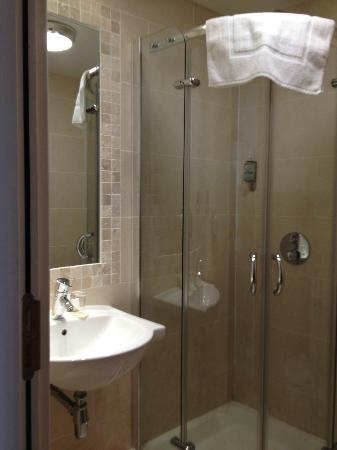 Headfort Arms Hotel: Small bathroom!
