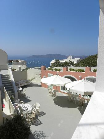 Ira Hotel & Spa: View from Ivi room