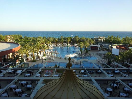 Delphin Palace Hotel: Vu sur la mer