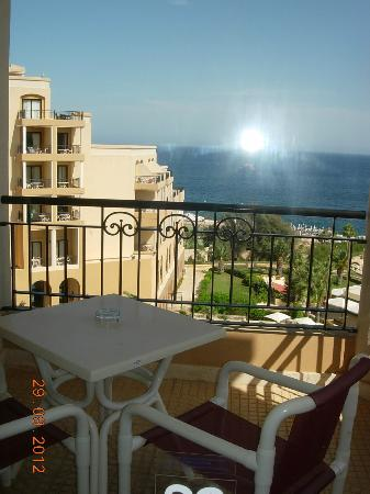 Corinthia Hotel St. George's Bay: One of the balconies