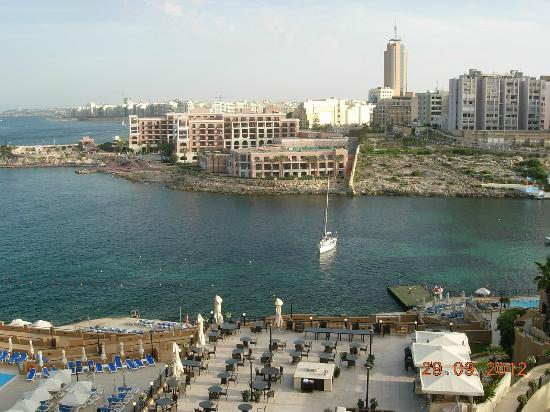 Corinthia Hotel St. George's Bay: View from room and terrace