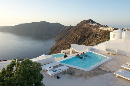 Rocabella Santorini Resort & Spa: Another pool with a great view