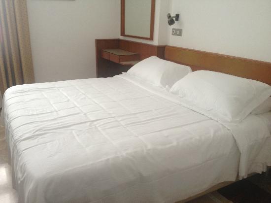 Canova Hotel: Sängen