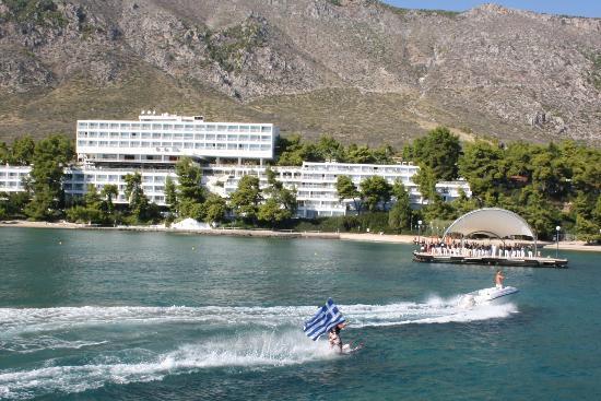 Club Med Gregolimano: Vue Bateau 1